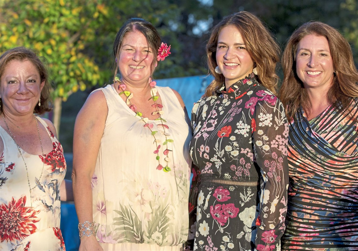 From left: Event co-chairs Katie Brahm, Sarah Tuthill, Tara Balonick, and Kristin Hilton.