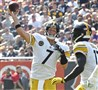 Quarterback Ben Roethlisberger has had an inconsistent start to the Steelers' season.
