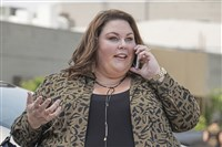 "Chrissy Metz of NBC's ""This is Us"" received a Golden Globe nomination Monday"