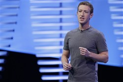 In this 2016 file photo, Facebook CEO Mark Zuckerberg speaks during the keynote address at the F8 Facebook Developer Conference in San Francisco.