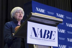Federal Reserve Chair Janet Yellen spoke at a recent economics conference in Cleveland. Ms. Yellen has acknowledged that the Fed is puzzled by the persistence of unusually low inflation and that it might have to adjust the timing of its interest rate policies accordingly.