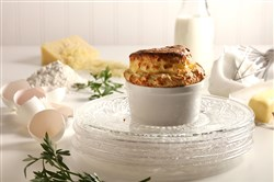 Souffles, besides being delicious and deceptively easy to pull off, are totally old school, classy with a delicate strength, like Audrey Hepburn in a ramekin. (Food styling by Mark Graham.) (Abel Uribe/Chicago Tribune/TNS)