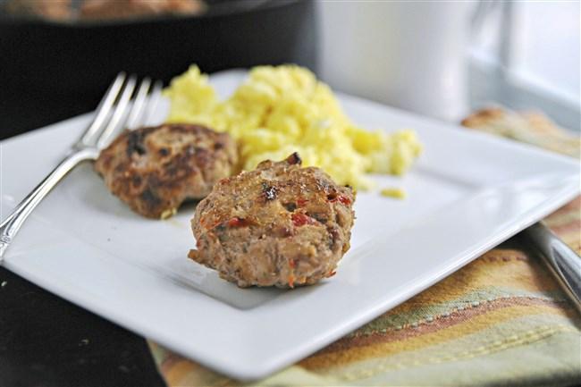 Easy Maple Turkey Breakfast Sausage.
