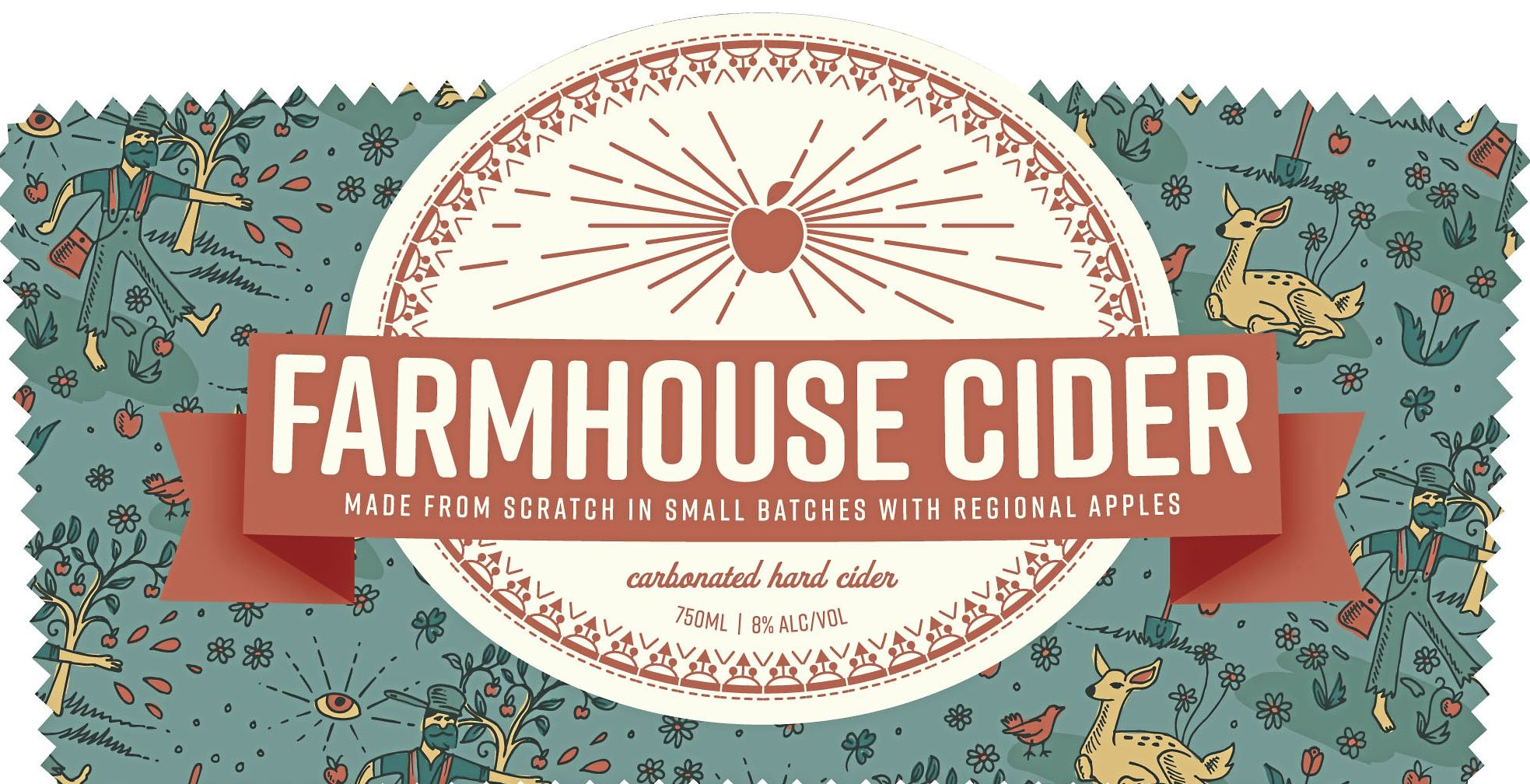 farmhouse cider threadbare-1 The Threadbare Farmhouse Cider label.