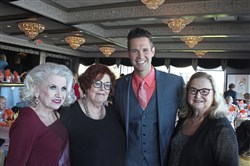 Sandy Bettor, Nancy Weiland, David Osmond and Joan Campasano Hoover.