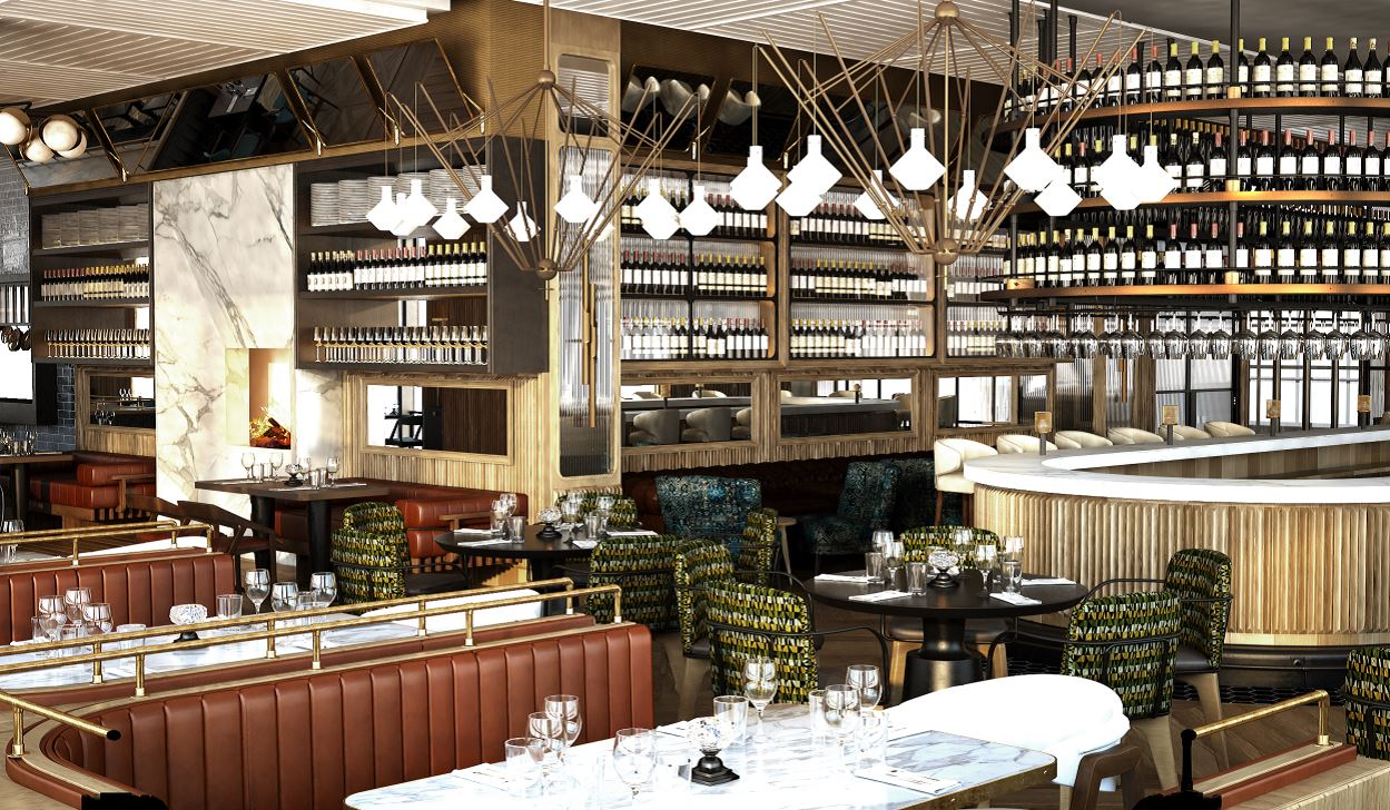 Fairmont Pittsburgh Fl.2  The new restaurant at Fairmont Pittsburgh — Fl.2 — is scheduled to open for dinner Oct. 27.