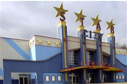 This 2005 file photo shows the old Star City Cinemas on Pa. Route 50 in South Fayette.