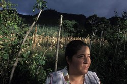 Maria Graciela Lorenzana is pictured in Lo de Silva, Guatemala, in November 2004.