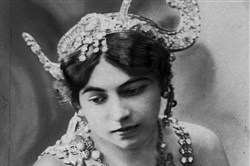 "An undated photo of dancer ""Mata Hari."""