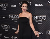 This file photo taken January 27, 2017, shows actress Alyssa Milano attending the red carpet event for the NHL 100 gala presented by Geico at the Microsoft theatre in Los Angeles