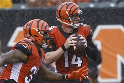 Andy Dalton and the Cincinnati Bengals are off to a 2-3 start, but they've won their past two games.