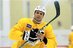 Ryan Reaves is seeing just 6:56 of ice time per game for the Penguins this season.