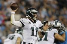 Carson Wentz and the Eagles have won four consecutive games heading into Monday's matchup against Washington.