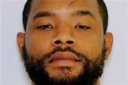 This photo provided by the Maryland State Police shows Radee Labeeb Prince, whom police are looking for after they said he opened fire with a handgun at the Emmorton Business Park in the Edgewood area of Harford County, Md., on Oct. 18, 2017, and then fled.