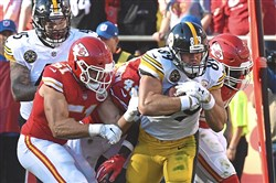 Vance McDonald has never played a full NFL season.