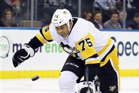 Ryan Reaves played a season-low 3:20 Tuesday night against the Rangers.