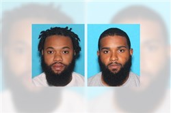 Brothers Ronnell Lawrence, 31, left, and Rondell Lawrence, 28.