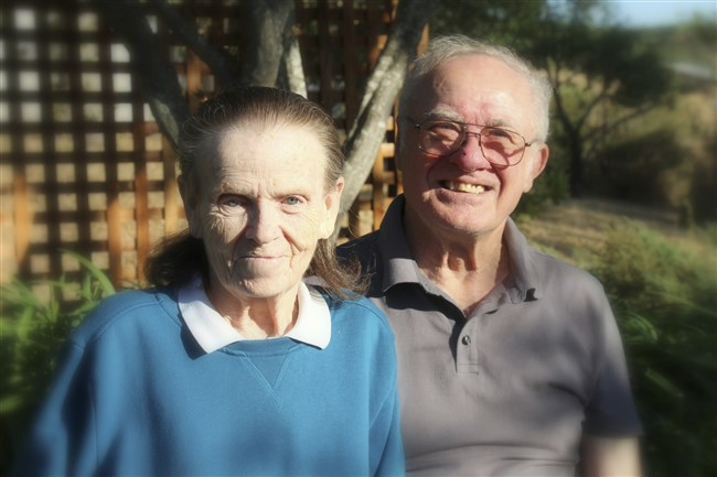 Donna and Leroy Halbur, both 80, died when unable to leave their Santa Rosa, Calif., home as a wildfire destroyed it early on Oct. 9.