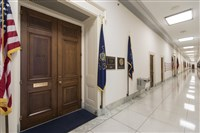 The office of Rep. Tim Murphy, R-Pa., is seen in the Rayburn House Office Building on Capitol Hill in Washington, Friday, Oct. 20, 2017.