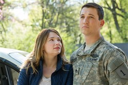"Haley Bennett, left and Miles Teller star in ""Thank You for Your Service,"" new on DVD."