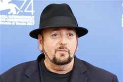 "This Sept. 4, 2017, file photo shows James Toback during the ""The Private Life of a Modern Woman"" photo-call at the 74th Venice International Film Festival at the Palazzo del Casino in Venice, Italy."
