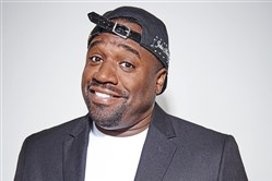 Corey Holcomb hits town this weekend.
