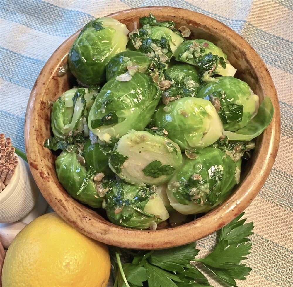 Brussels Sprouts Pinzimonio