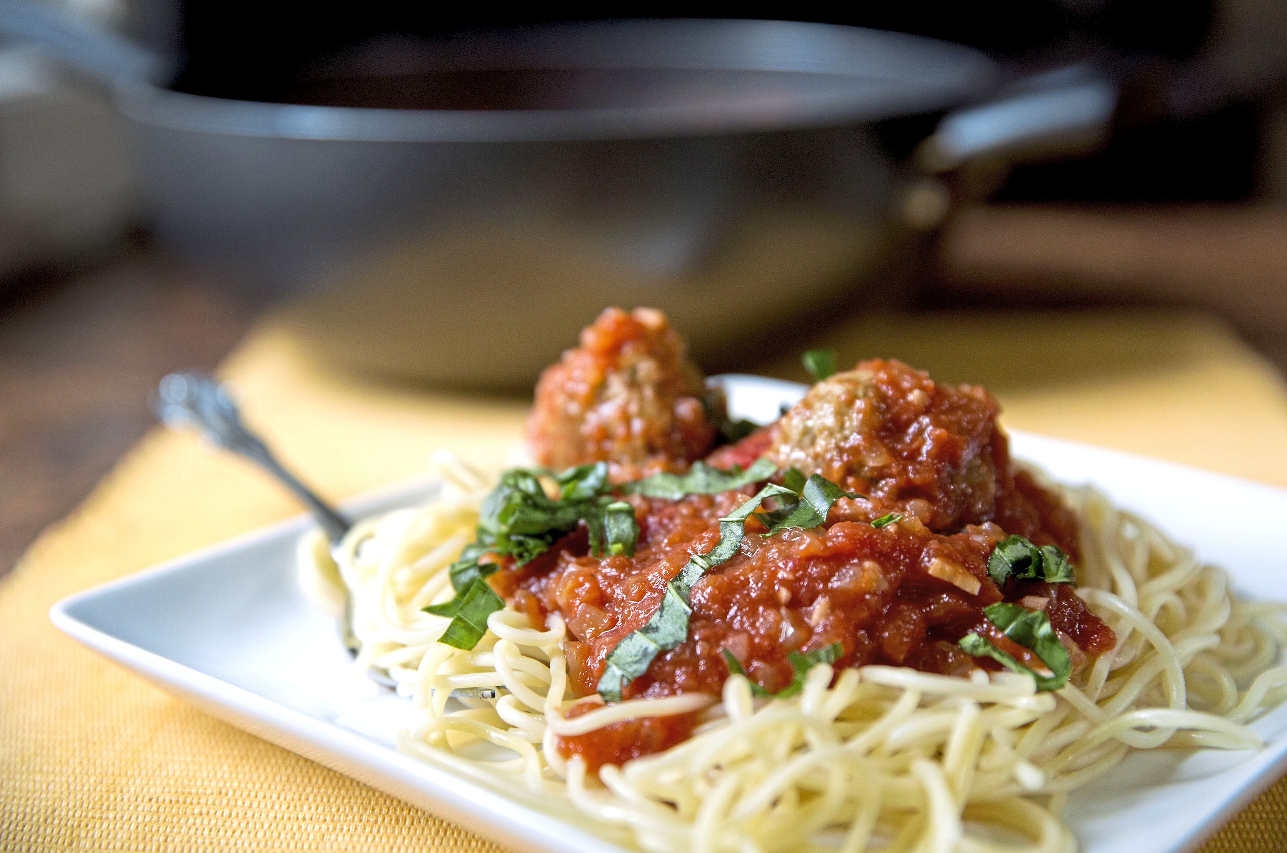 America S Test Kitchen Pesto Meatballs