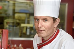 "French pastry chef David Piquard of ""Gaby & Jules"""