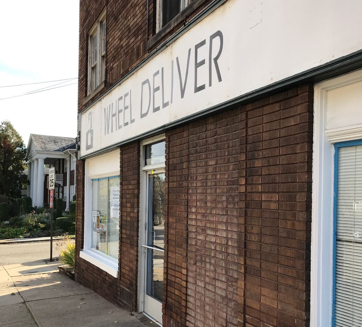IMG_1181.jpg Whether it's temporarily or permanently closed, Wheel Deliver resides at 6524 Wilkins Ave. in Squirrel Hill.
