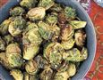 NS thanksgiving sides buttered brussels sprouts
