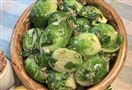 NS thanksgiving sides Brussels Sprouts Pinzimonio