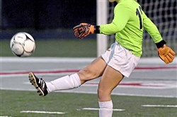 Mars goalkeeper Claire Valentine is an integral part of the Planets defense as she has allowed just eight goals with 13 shutouts this season.