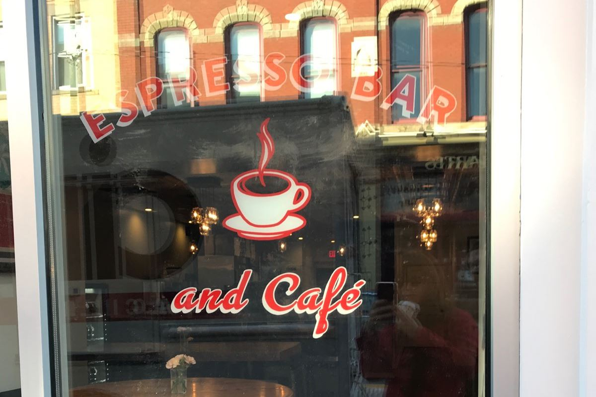 IMG_1175.jpg Espresso a Mano has opened at 1506 E. Carson Street on the South Side.