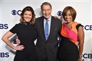 This May 17, 2017, file photo shows Charlie Rose, center, who has been fired by CBS in the wake of sexual harassment allegations by eight women, Norah O'Donnell, left, and Gayle King as they attend the 2017 CBS Upfront in New York City.