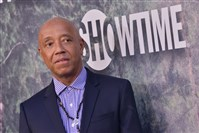 "In this file photo, Russell Simmons arrives at Showtime's ""Twin Peaks"" premiere May 19, 2017, at the Ace Hotel Theatre in Los Angeles."