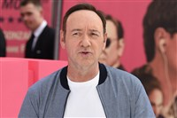 "This file photo shows Kevin Spacey at the ""Baby Driver"" premiere on June 21, 2017, at Cineworld Empire Leicester Square in London."