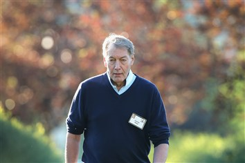 In this file photo, moderator/TV personality Charlie Rose attends the Allen & Co. Media and Technology Conference on July 9, 2014, in Sun Valley, Idaho.
