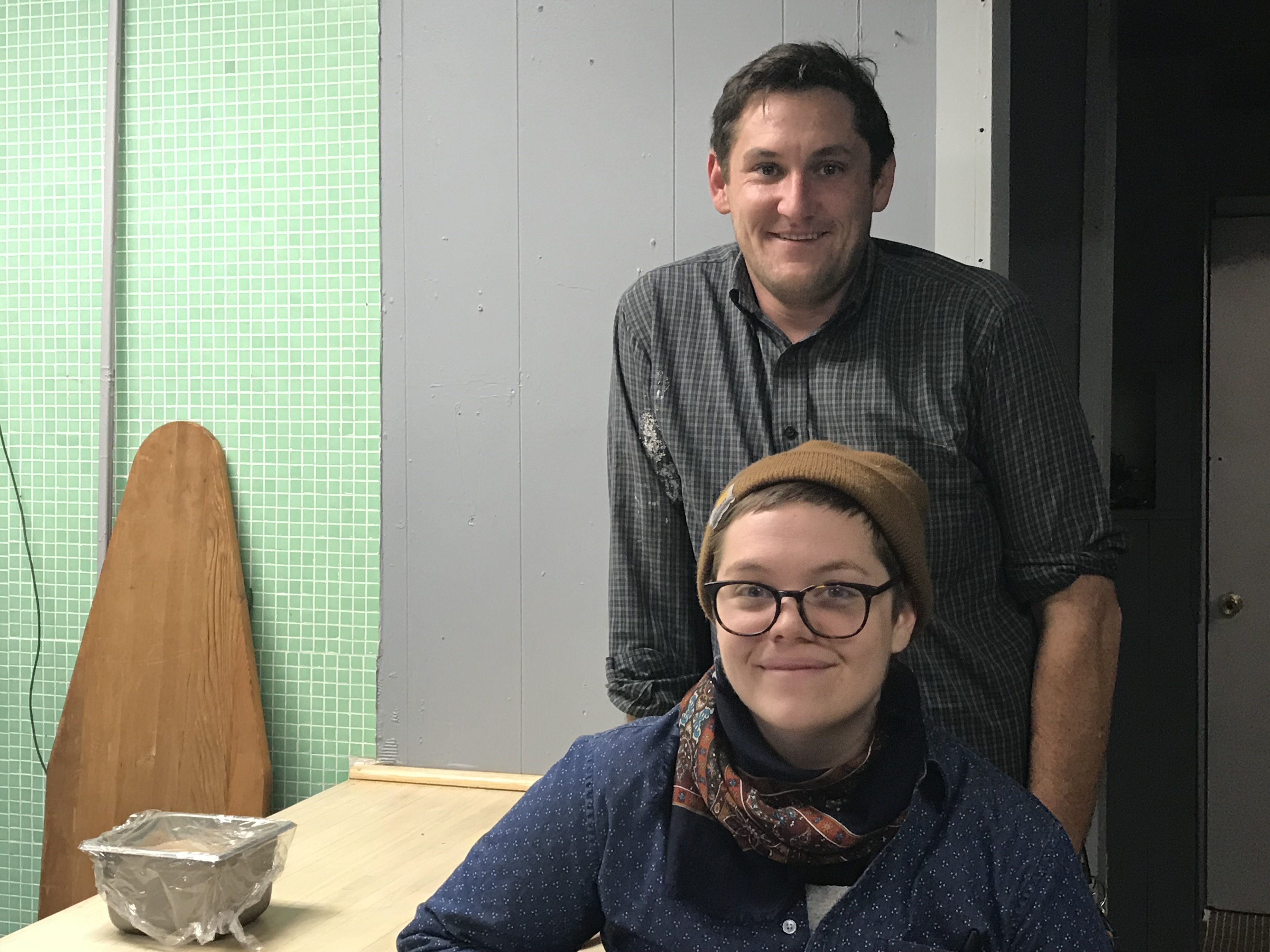 IMG_1245.jpg Lou DeVito and Becca Hegarty join Jodo Oddo in opening Bitter Ends Luncheonette in Bloomfield next week.