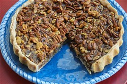 Maple Nut Tart.