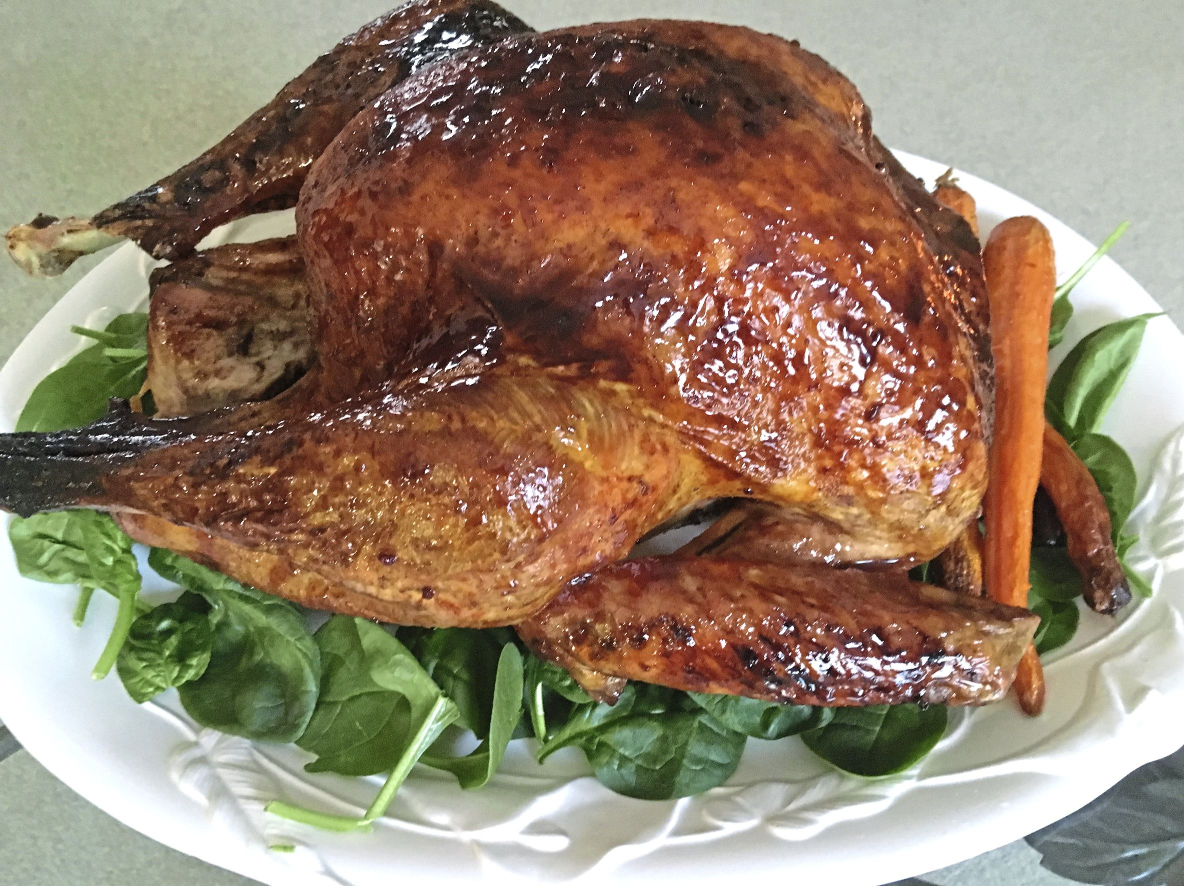Have it both ways for thanksgiving butter baste the for What to serve with thanksgiving turkey