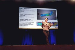 Margaret Schmitt of Ansys explains the company's newest innovation, ANSYS Discovery, an interactive experience that allows users to manipulate geometry, materials and physics to see instant 3D results. She presented while at AlphaLab's Demo Day on November 2, 2017 at Stage AE.