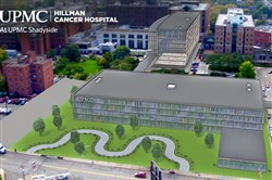 UPMC Hillman Cancer Hospital at UPMC Shadyside will be built near the system's Shadyside Hospital.