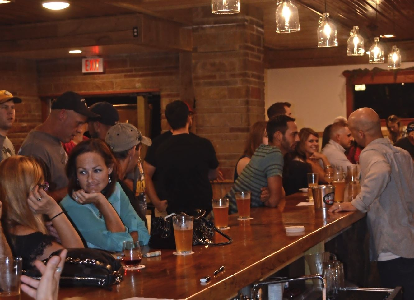 image2 (1) The bar at the new Conny Creek Brewing Co. near Lower Burrell in Westmoreland County.