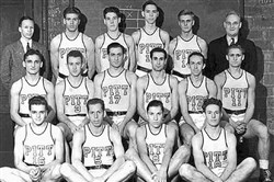 The 1941 University of Pittsburgh basketball team.