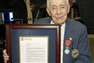 Bridgeville native Gus Andreone, 106, was recently awarded the Order of the Legion of Honor by France.