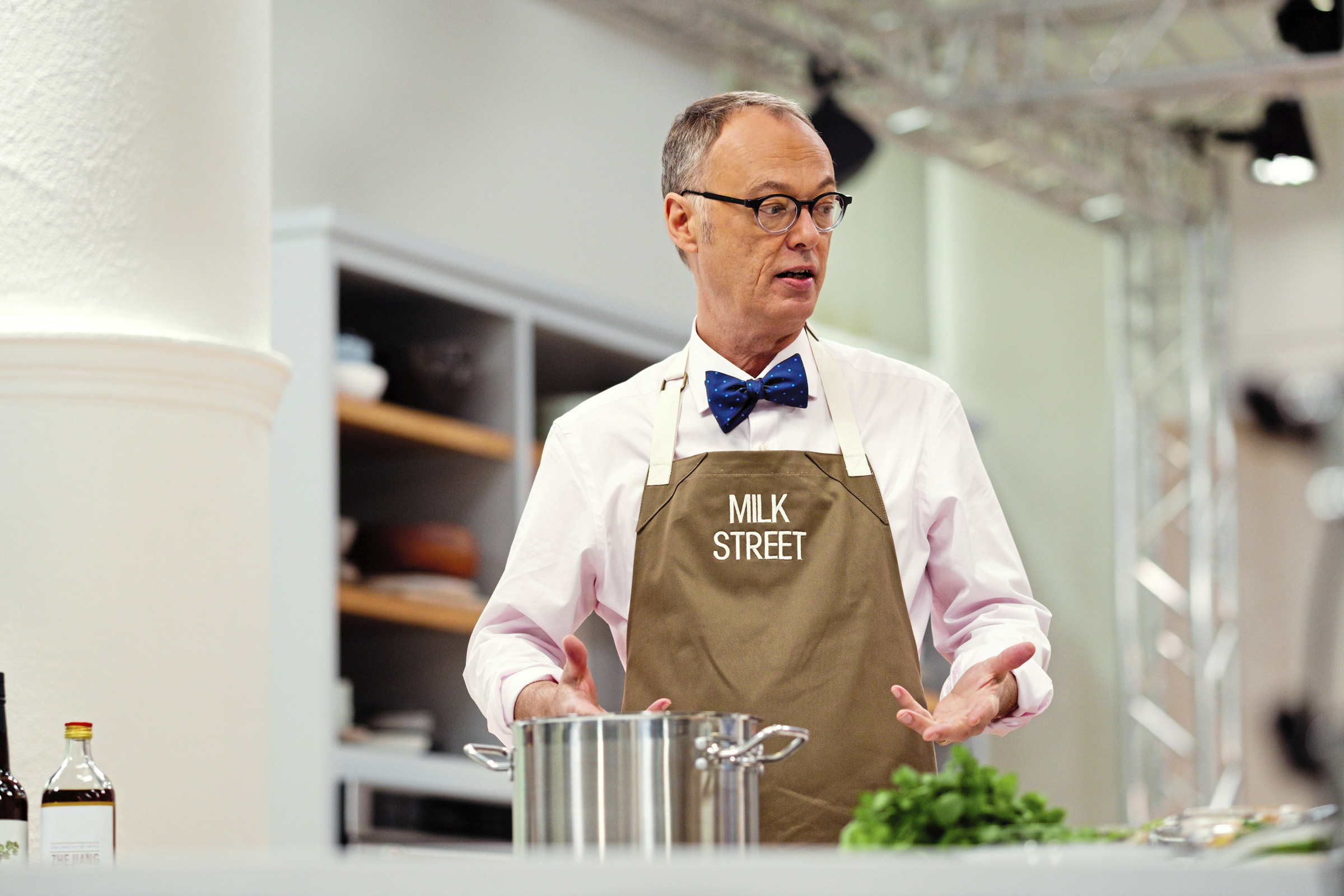 20161020-Milk-Street-0961-1 After leaving America's Test Kitchen, Christopher Kimball founded Milk Street, a media company with a magazine, cooking school, radio programs and now a cookbook.