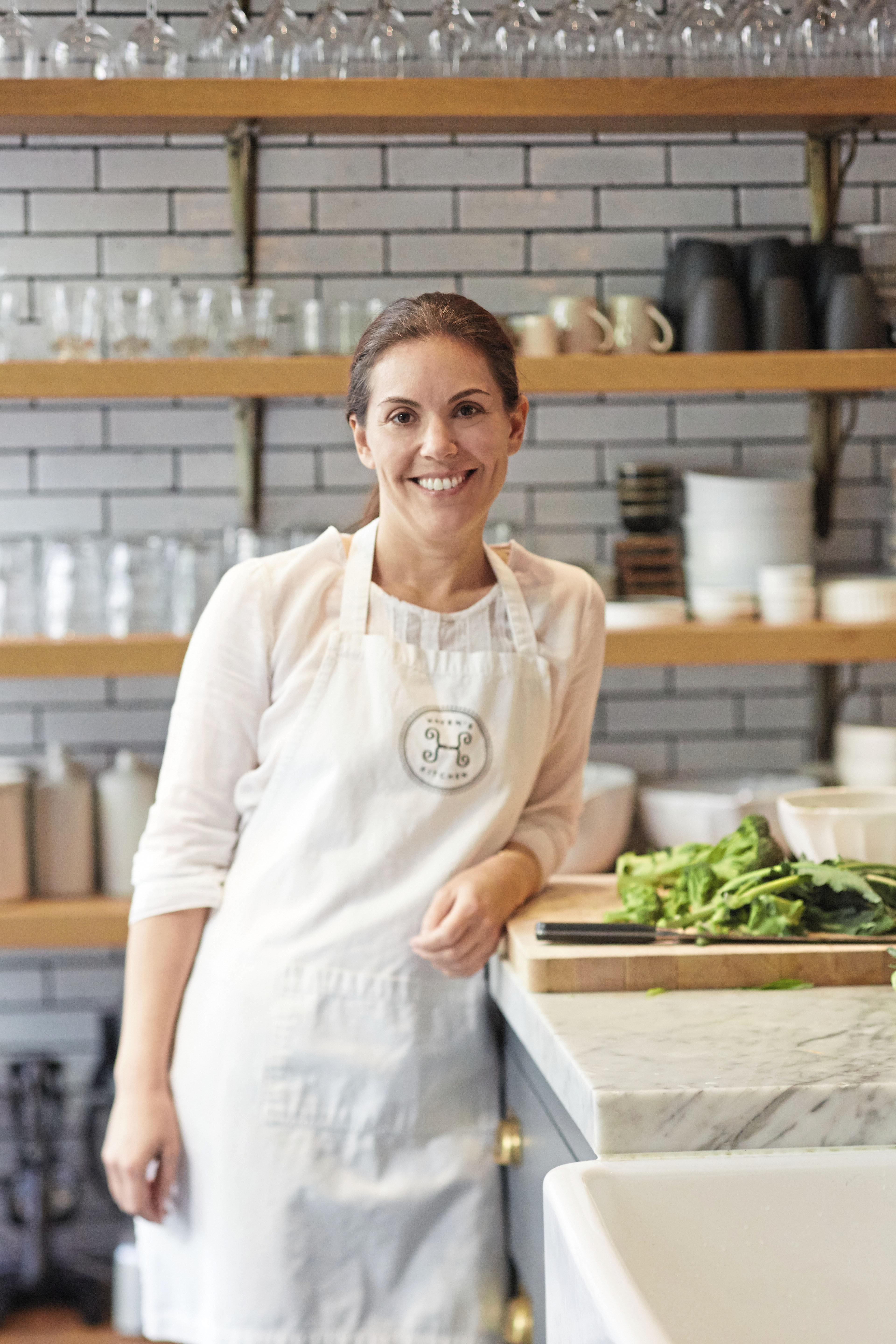 AUTHOR-PHOTO-Alison-Cayne-Credit-Lauren-Volo Alison Cayne is the owner of Haven's Kitchen, which is a cooking school, cafe and event space in New York City.