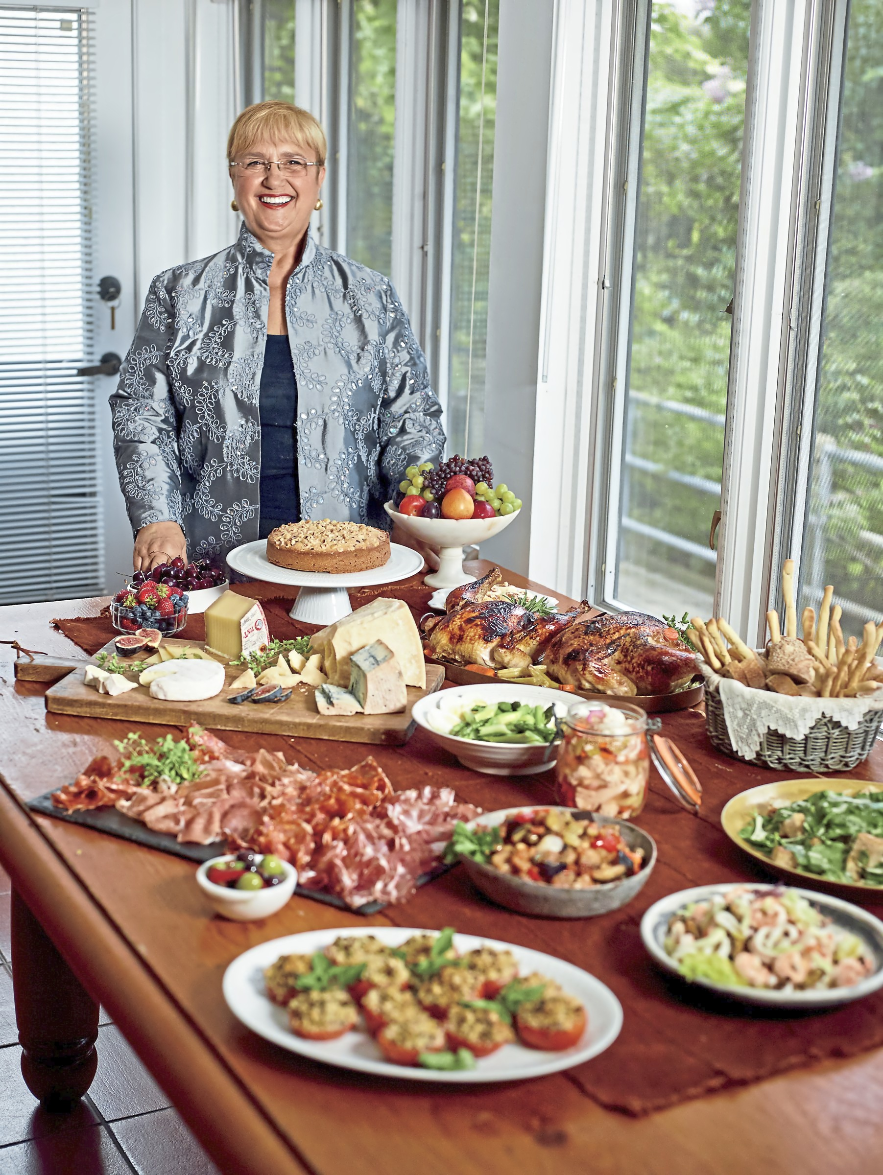 bastianich antipasto buffet holiday Lidia Bastianich says her favorite way to start off holiday meals is by serving antipasto as a buffet.