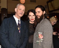 From left, John Waters, Marina Abramovic and Jared Leto co-chaired The Warhol's largest fundraising event of the year on Nov. 6 at The Odeon in New York City.